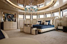 Couture Collection http://www.turri.it Luxury yacht bedroom furniture