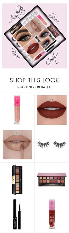 """""""I want!"""" by ivywinchester ❤ liked on Polyvore featuring beauty, Jeffree Star, Yves Saint Laurent, Anastasia Beverly Hills, Giorgio Armani and Jewelonfire"""