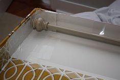 cornice boards ideas | DIY cornice from foam board | Craft Ideas