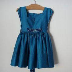 Belle Heir - teal blue c. 1945