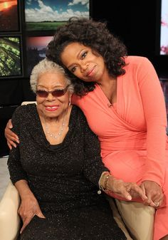 Oprah Remembers Dr. Maya Angelou  RIP Dr. Angelou - the world is better coz you were here.