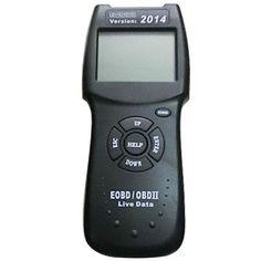 Newest D900 OBDII OBD2 Car Live Data Fault Code Reader Diagnostic Scanner Tool