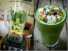 batida verde perder peso