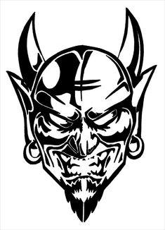 drawings of the devil Skull Stencil, Tattoo Stencils, Stencil Art, Demon Drawings, Tattoo Drawings, Art Drawings, Devil Tattoo, Satanic Art, Geniale Tattoos