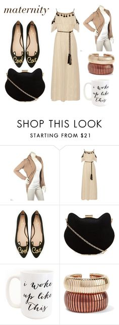"""nine"" by eliseyougetit ❤ liked on Polyvore featuring Rachel Zoe, Kate Spade, New Look, Moon and Lola and Rosantica"