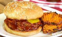 The Best Ever Crockpot Pulled Pork Sandwiches Easy Sandwich Recipes, Pork Sandwich, Italian Beef Sandwiches, The Slow Roasted Italian, Homemade Barbecue Sauce, Best Crockpot Recipes, Pulled Pork Recipes, Slow Cooker Pork, Stuffed Peppers