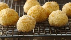 Made with both sweetened and unsweetened coconut these mounded treats are just the right amount of sweet.