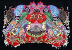 Mandala Trippy Art Psychadelic Art Geometric by CelticMandala