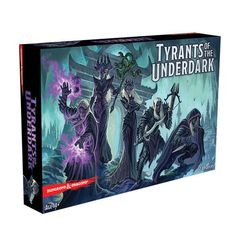 Enter now for a chance to win the Tyrants of the Underdark - Board Game Giveaway!