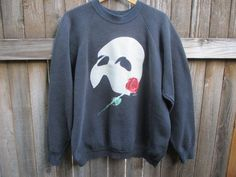 "14. Phantom of the Opera Vintage Sweatshirt (1986) | Community Post: 21 Awesome Gifts For ""The Phantom Of The Opera"" Fan In Your Life"