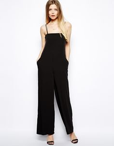 ASOS Loose Strappy Jumpsuit