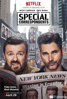 Special Correspondents (2016) Streaming HD