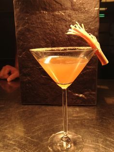 #cocktail #competition #rhubarb