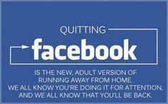 Quitting FB.