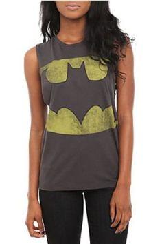 DC Comics Batman Deep Sleeve Girls Tank Top - 328852