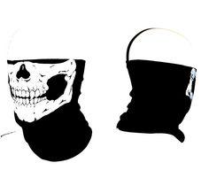 Amazon.com: Stretchable Motorcycle Biker Snowboards Tubular Skull Face Mask: Automotive