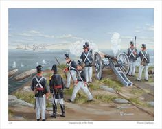 Niagara 1812 Legacy Council: Flight and terror – Engagement at the Forty American Uniform, American War, American Soldiers, American History, Toy Soldiers, Army & Navy, Us Army, First French Empire, Battle Of New Orleans