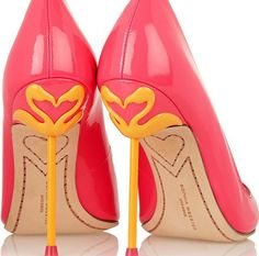 Sophia Webster Coco neon patent-leather pumps and other apparel, accessories and trends. Browse and shop 46 related looks. Sapatos Sophia Webster, Sophia Webster Shoes, Dream Shoes, Crazy Shoes, Me Too Shoes, Pretty Shoes, Beautiful Shoes, Gorgeous Heels, Pointe Shoes
