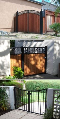Gordon Bentley offers a variety of metal products for your property. He provides durable wrought iron gates, fences, automated openers, chain links and more.