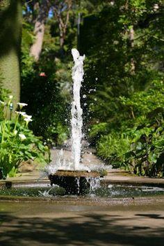 gardens La Mortella in Ischia (Napoli) - Lower & Octagonal fountain