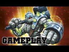 Skylanders Giants CRUSHER Preview Gameplay