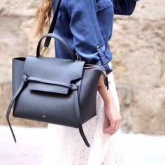 9a56a429b0 Celine Micro Belt Bag Black