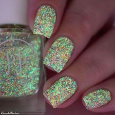 Painted Polish - Aurora (Glow-in-the-Dark! - green glow)