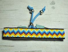 Indian Sunset Loom Bead Bracelet