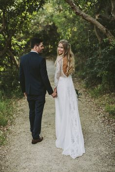 Ally in our INCA gown | Grace Loves Lace