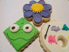 Rapunzel or Tangled Cookies (3 dozen)