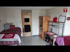 YouTube tour Dorm Life, College, Bedroom, Youtube, House, Furniture, Home Decor, Room, Homemade Home Decor
