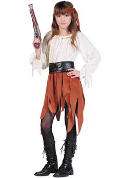 Rogue Pirate Girl Child Costume - Pure Costumes