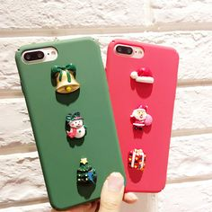 New style Christmas gifts case for iPhonei 6 6S plus hard case back cover for iPhone 7 plus  C6566