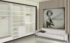 Vestidor. Gama Inside, Color Blanco. Visite nuestras tiendas. Otros productos: armarios empotrados, armarios a medida, puertas correderas, p...