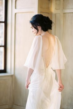 Pale Blue Wedding Inspiration with European Charm - Kerry Jeanne Photography - dress by @sarahseven