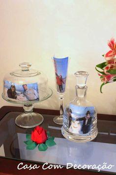 fotos em vidro