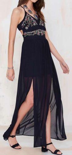 Glamorous Rosita Maxi Dress ==