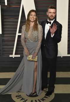 Inside the Most Exclusive Oscar After-Parties Jessica Biel in Zuhair Murad and Justin Timberlake