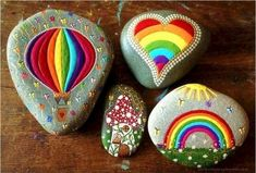 100 Inspirational DIY Of Painted Rocks Ideas 26