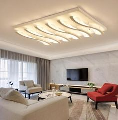 Picture 14 of 15 False Ceiling Living Room, Ceiling Design Living Room, Ceiling Light Design, Chandelier In Living Room, Home Ceiling, Living Room Lighting, Ceiling Lights, Latest False Ceiling Designs, Bedroom False Ceiling Design