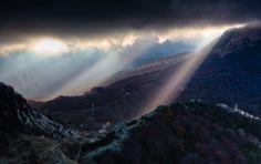 Dramatic Light.  Abruzzo.  Italy.  by Hans Kruse.