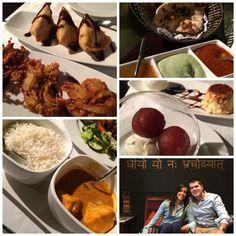Celebrando 8 años en un hindú, Restaurante Bembi.