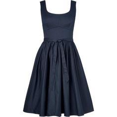 L.K. Bennett Lila A-line Dress ($300) ❤ liked on Polyvore
