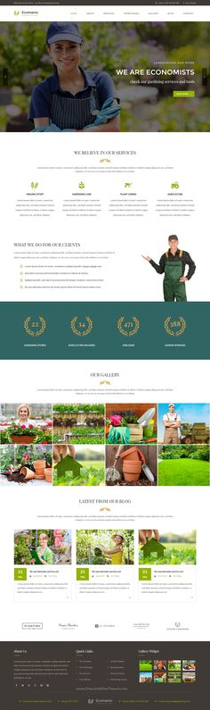 Ecomanic is clean and modern design 3 in 1 premium #WordPress Theme for #Gardening, Lawn Care, #Florists and Landscaping business website download now➯ https://themeforest.net/item/ecomanic-gardening-lawn-care-and-landscaping-wordpress-theme/15993569?ref=Datasata