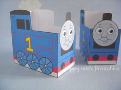 Printable Thomas and friends party favors by HappywithPrintables
