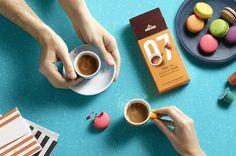 Elite Coffee Capsules — The Dieline - Branding & Packaging Design