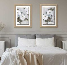 Feminine Elegance art in a Bedroom Soft Colors, Accent Colors, Pastel Colors, Watercolor Poppies, White Elegance, Dining Room Table Chairs, Classic Artwork, Elegant Dining Room, Floral Artwork