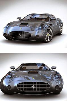 InstaCarros: Ferrari 575 GTZ Zagato que belleza de Carro