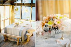 Anthropology Inspired Wedding - Styled by Jill La Fleur, Photos Jose Villa