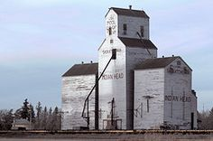 Grain elevator Indian Head, Saskatchewan